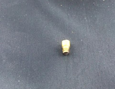 Nipple for 2412 Brass Stove