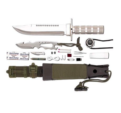 12-Pc Survival Knife